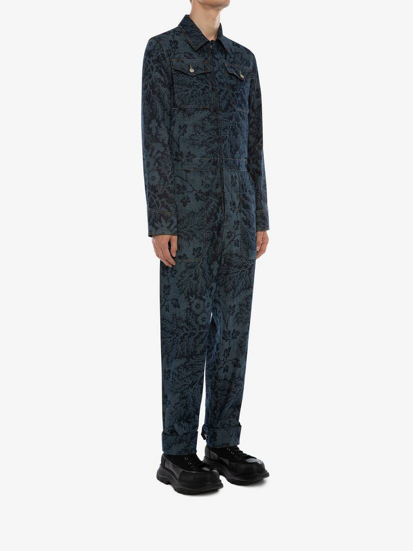 Display a large version of the product image 3 - Ivy Creeper Denim Jumpsuit