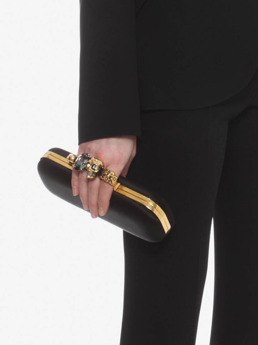 Display a large version of the product image 5 - Satin Four Ring Clutch