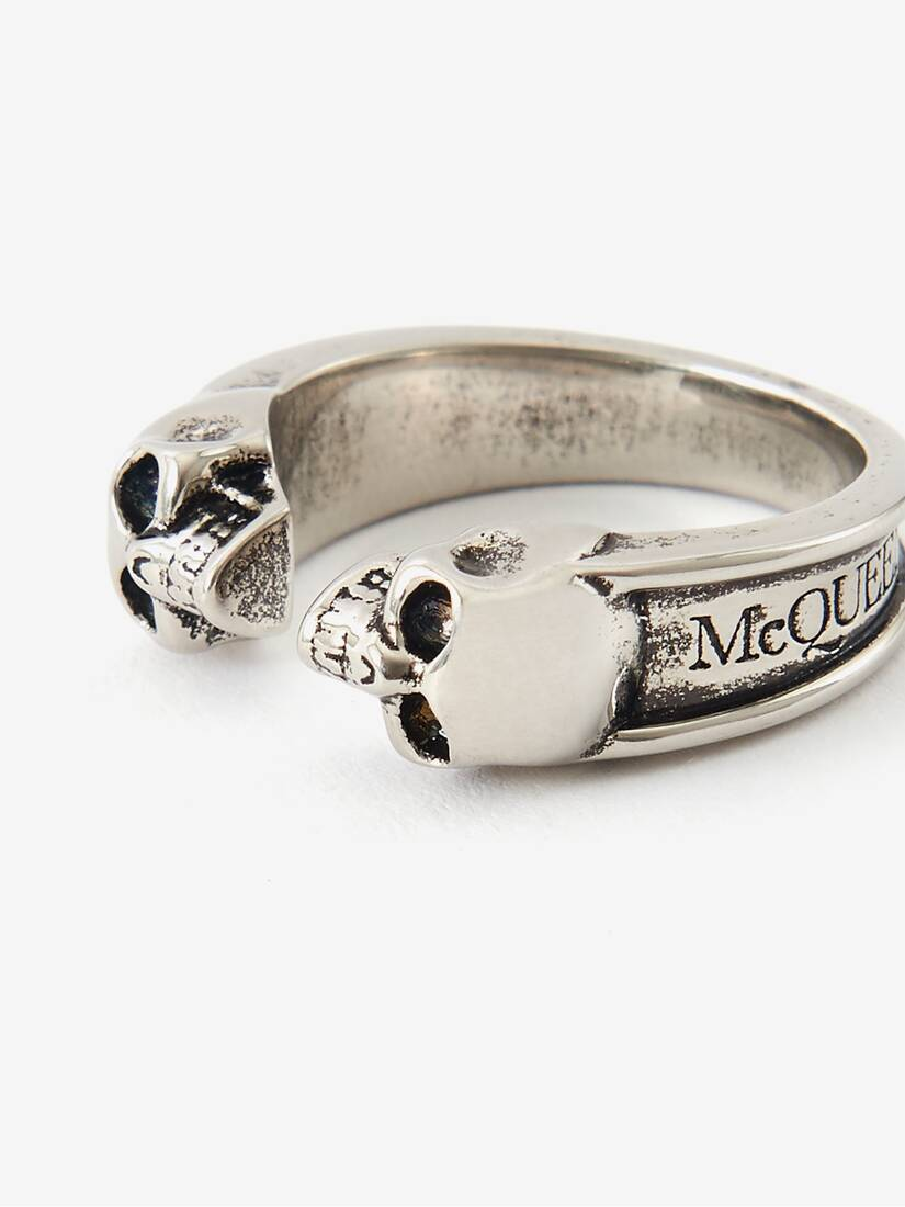 Display a large version of the product image 4 - Twin Skull Ring