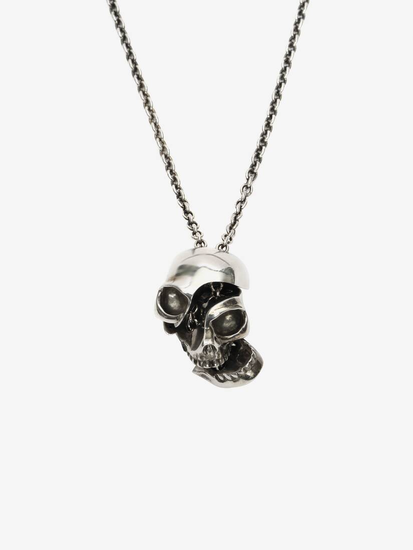Display a large version of the product image 2 - Divided Skull Pendant