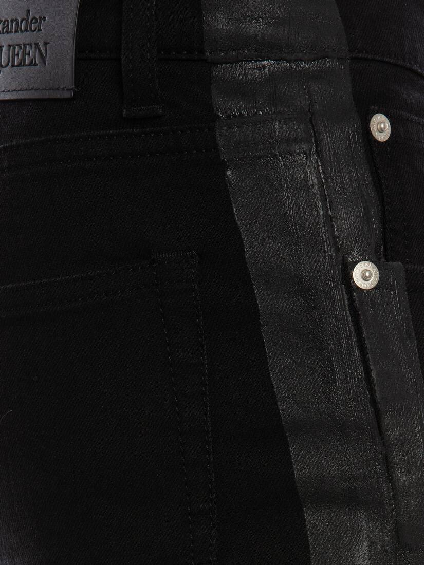Display a large version of the product image 5 - Panelled Jeans