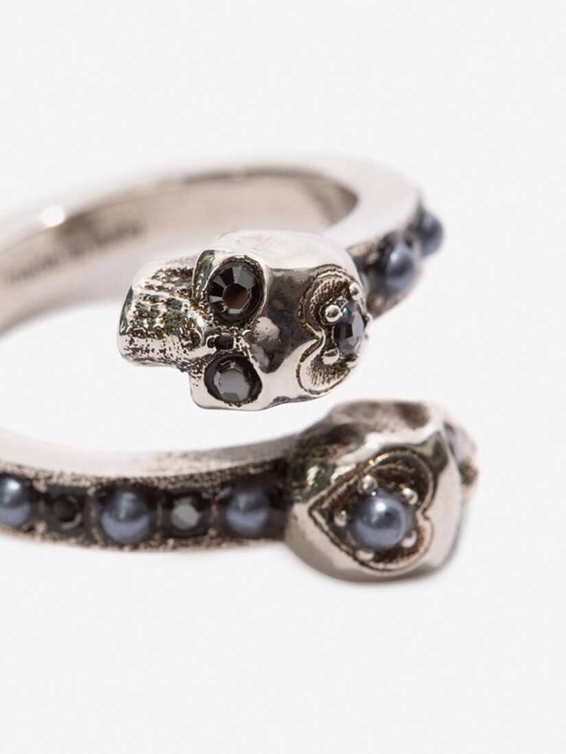 Display a large version of the product image 3 - Wrap-Around Skull Ring