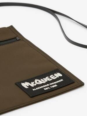 McQueen Tag Crossbody Pouch