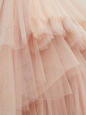 Bustier Tulle Dress