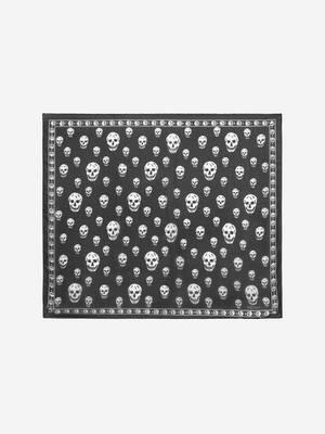 Classic Silk Skull Scarf