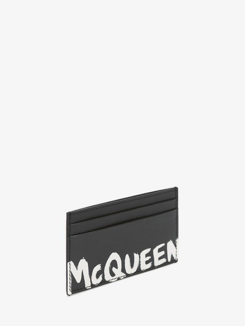 Display a large version of the product image 2 - McQueen Graffiti Card Holder