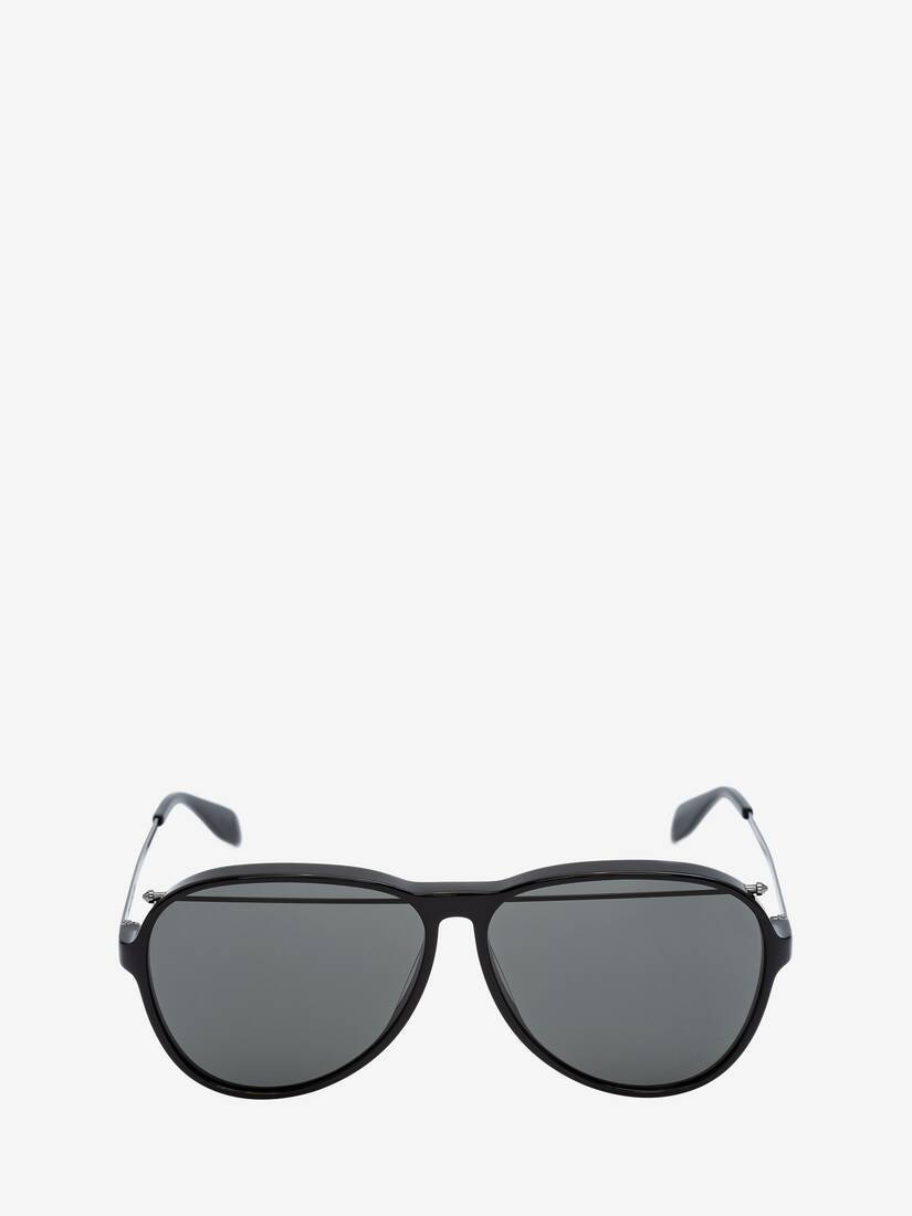 Piercing Pilot Acetate Sunglasses