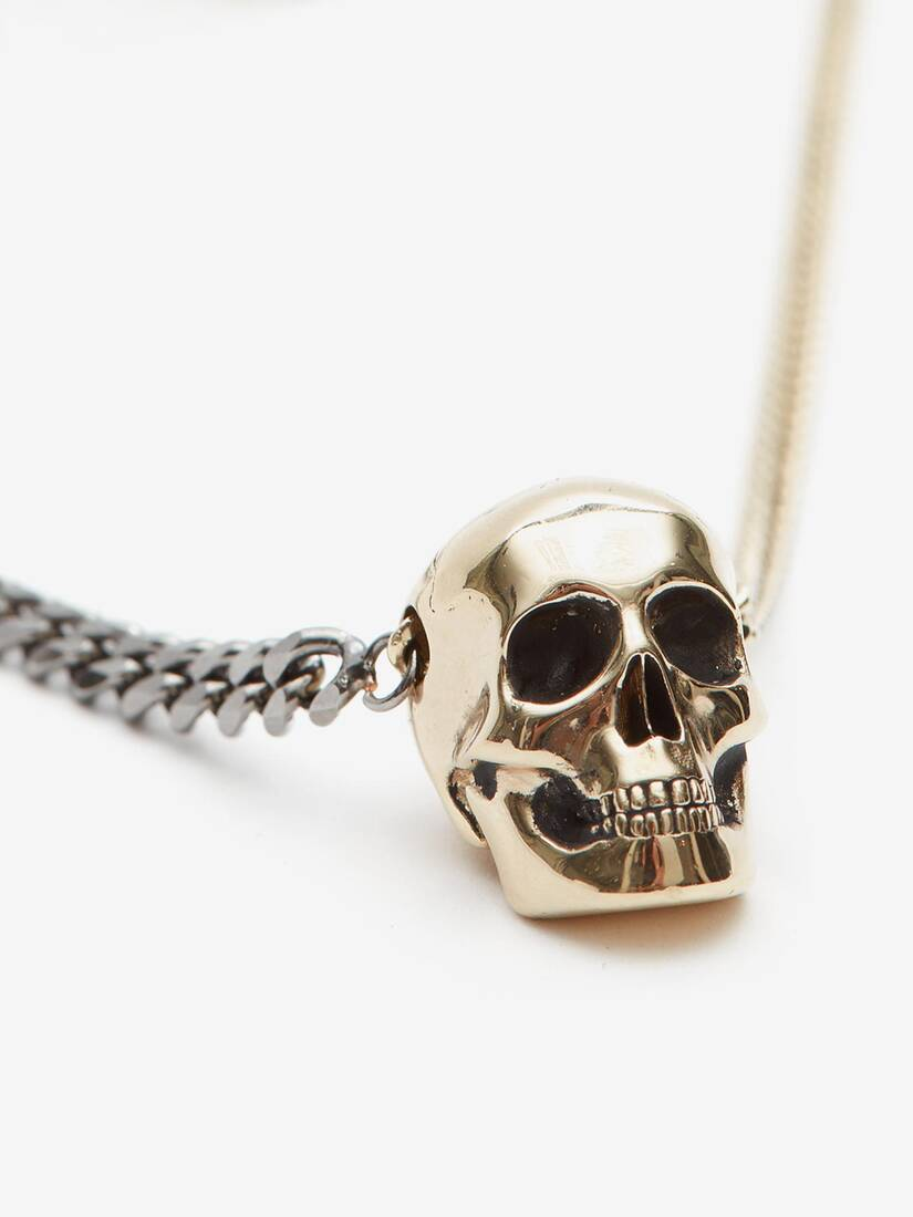 Display a large version of the product image 3 - Chain Skull Necklace