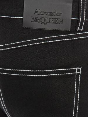 Fitted Denim Trouser