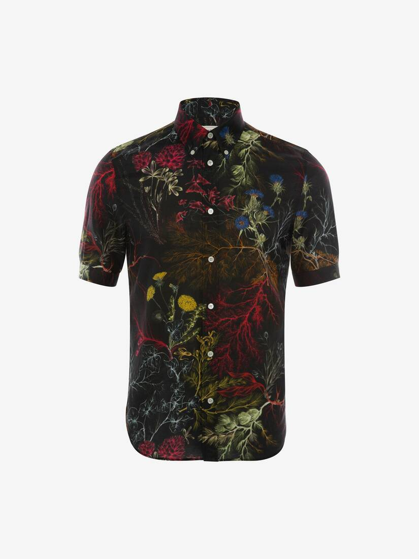 Display a large version of the product image 1 - Glowing Botanical Shirt
