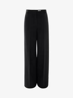 Pantaloni a Gamba Ampia
