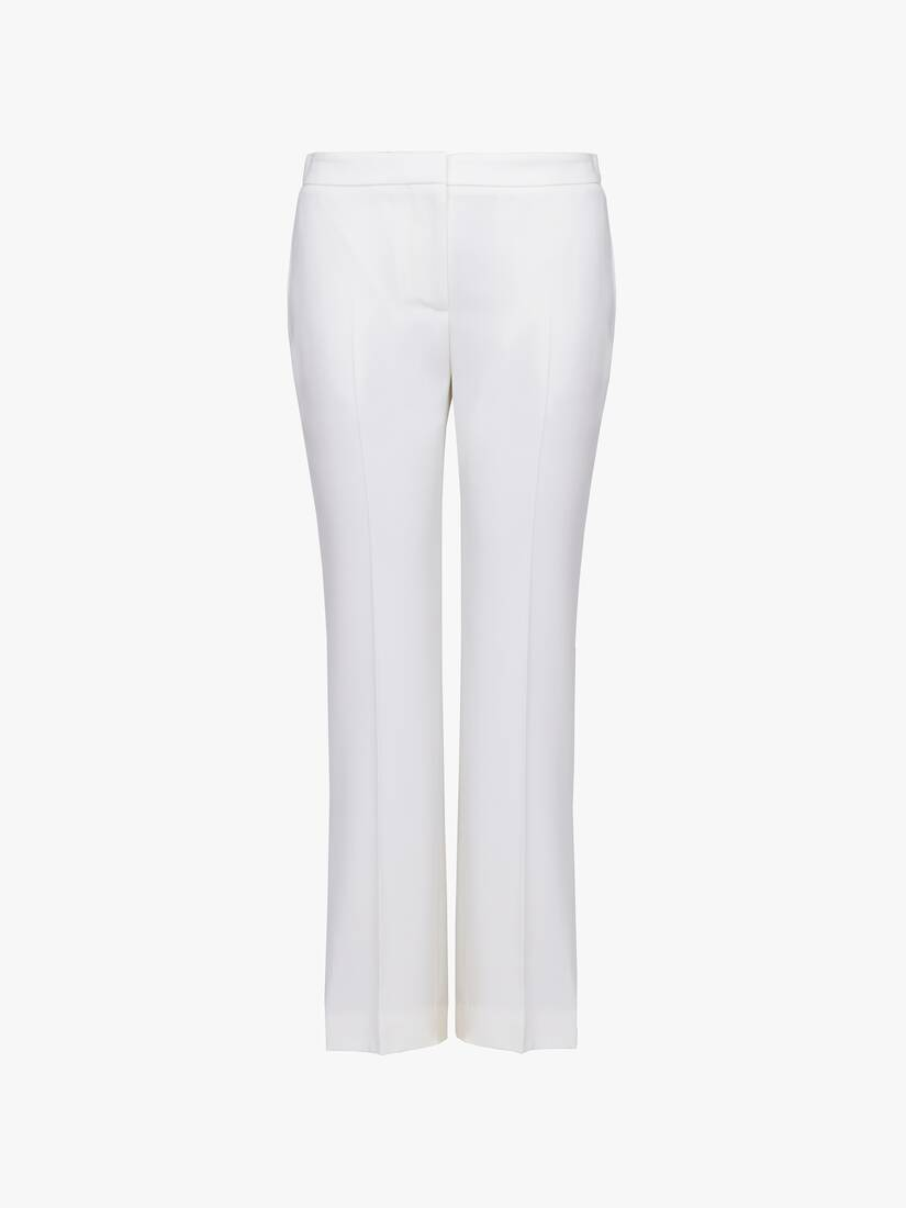 Display a large version of the product image 1 - High Waisted Cigarette Pants