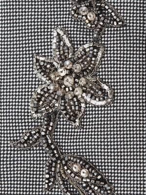Jewelled Flower Tie