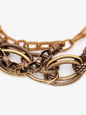 Multi Chain Mesh Necklace