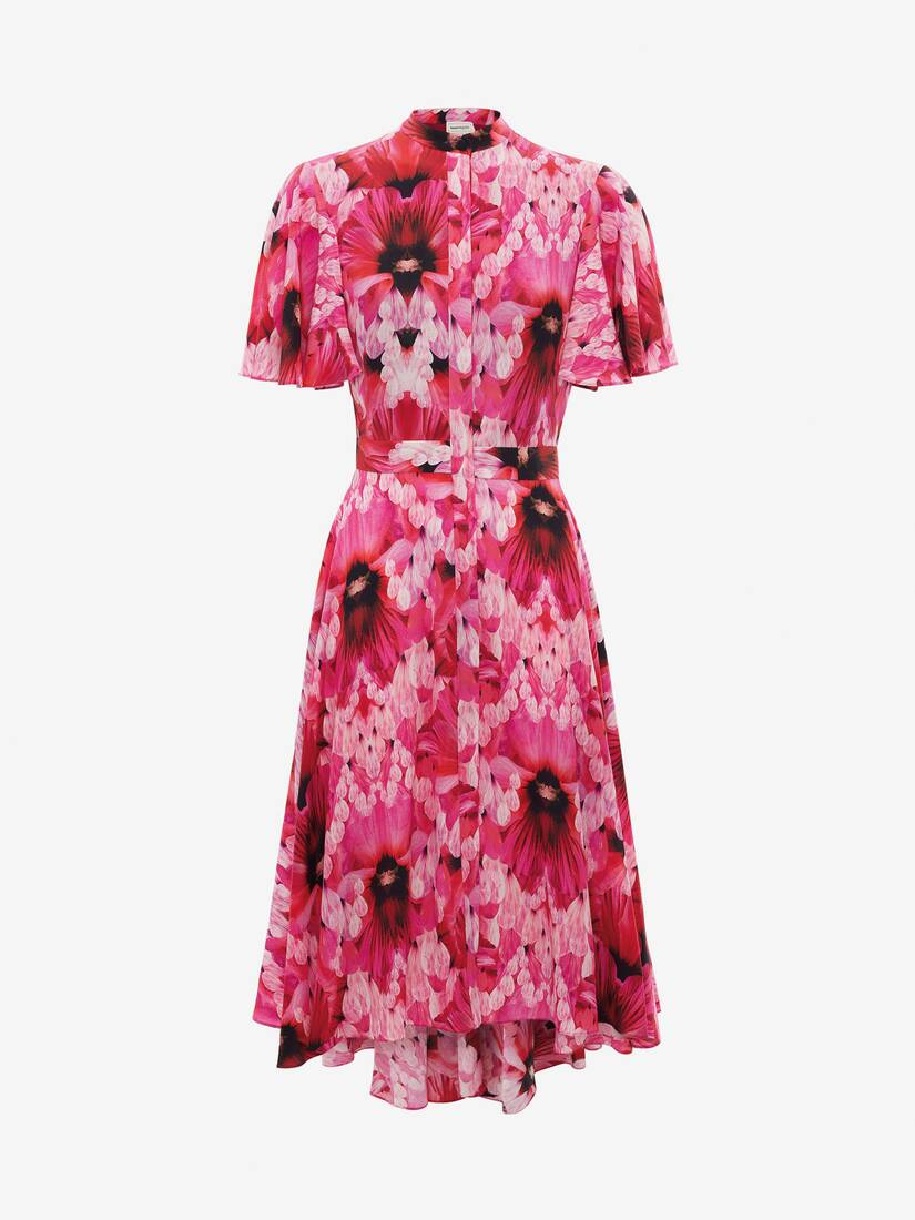 Display a large version of the product image 1 - Endangered Flower Midi Dress