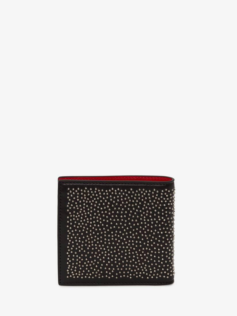 Studded Billfold Wallet
