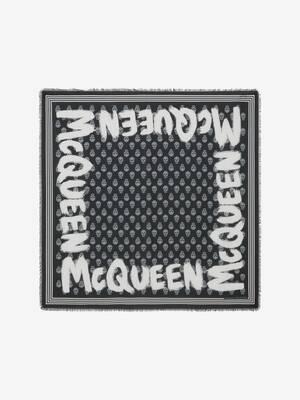 Écharpe Biker à graffiti McQueen