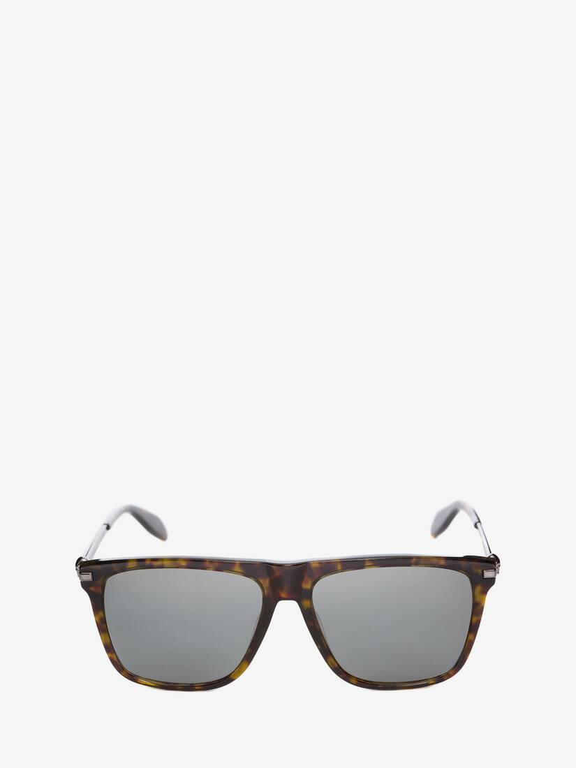 Display a large version of the product image 1 - Skull Square Acetate Sunglasses