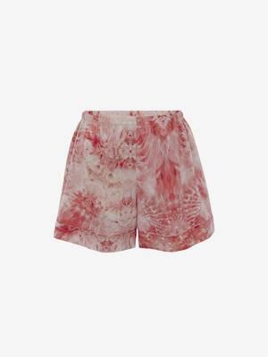 Sea Coral Pyjama Shorts