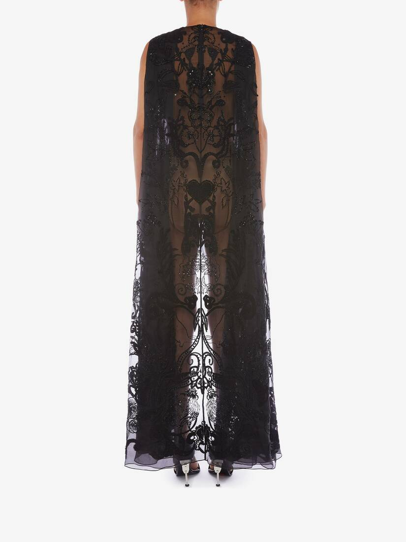 大きな製品イメージを表示する 4 - ブーコリック エンブロイダリー チュール ドレス
