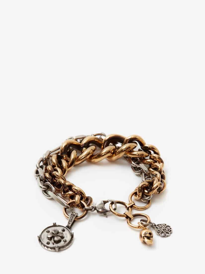 Medallion Chain Bracelet