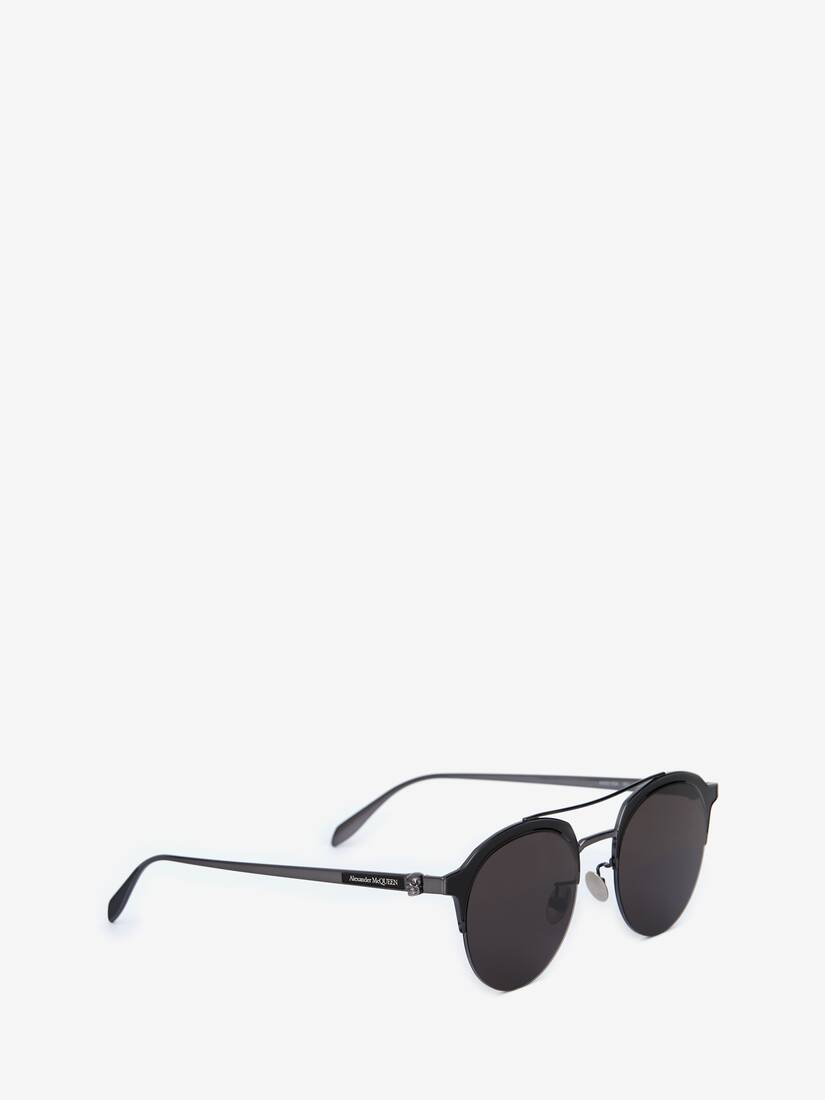 Display a large version of the product image 3 - Skull Panthos Metal Sunglasses