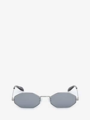 Occhiali da Sole Piercing Ottagonali