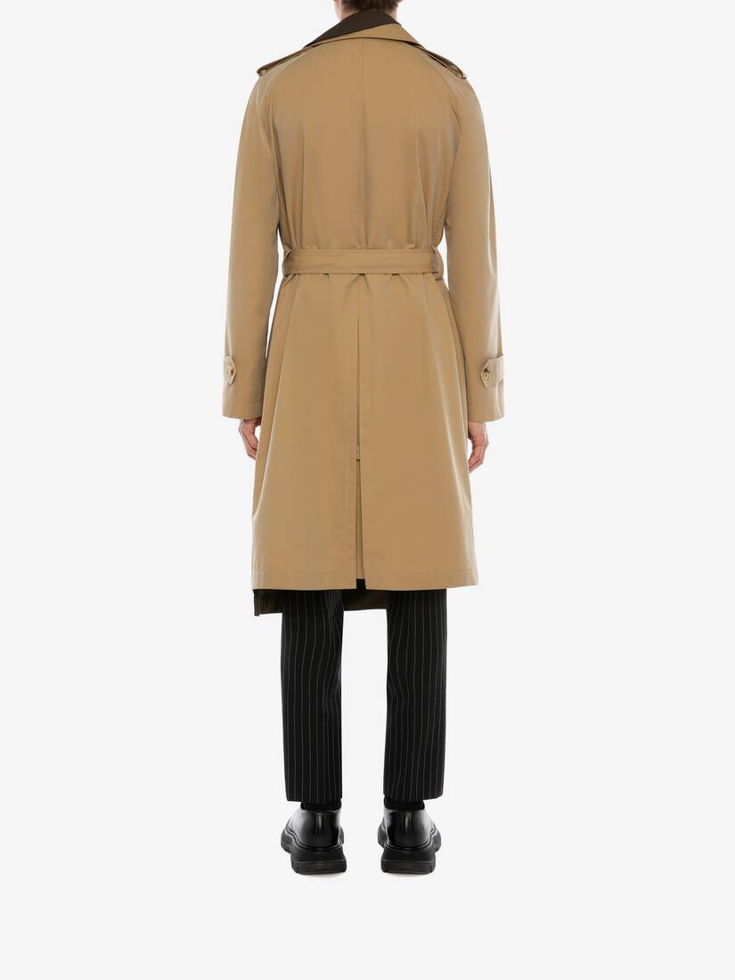 Display a large version of the product image 4 - Trompe-l'œil Layered Trench Coat