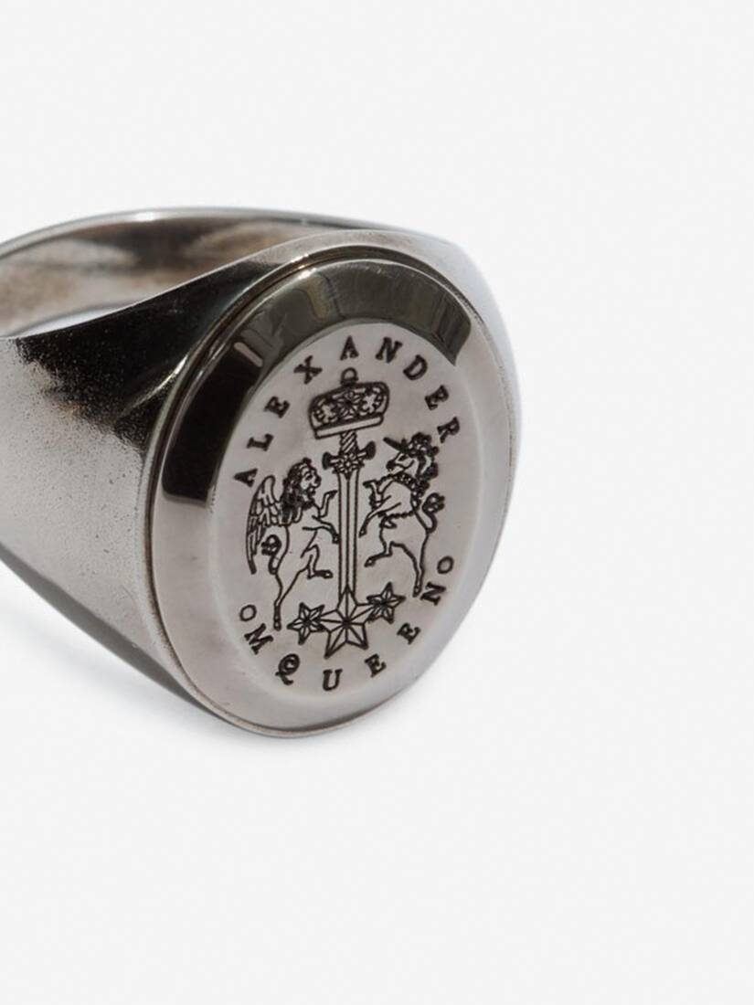 Display a large version of the product image 3 - Signet Ring