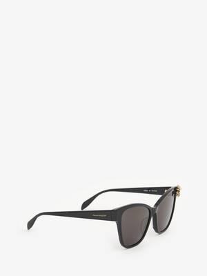 Spider Jeweled Acetate Sunglasses