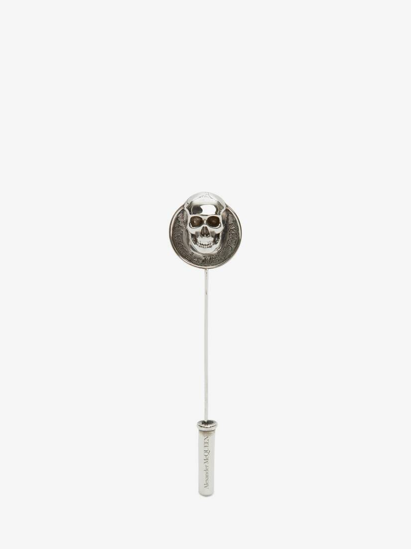 Display a large version of the product image 1 - Skull Coin Pin