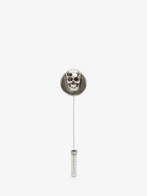 Skull Coin Pin
