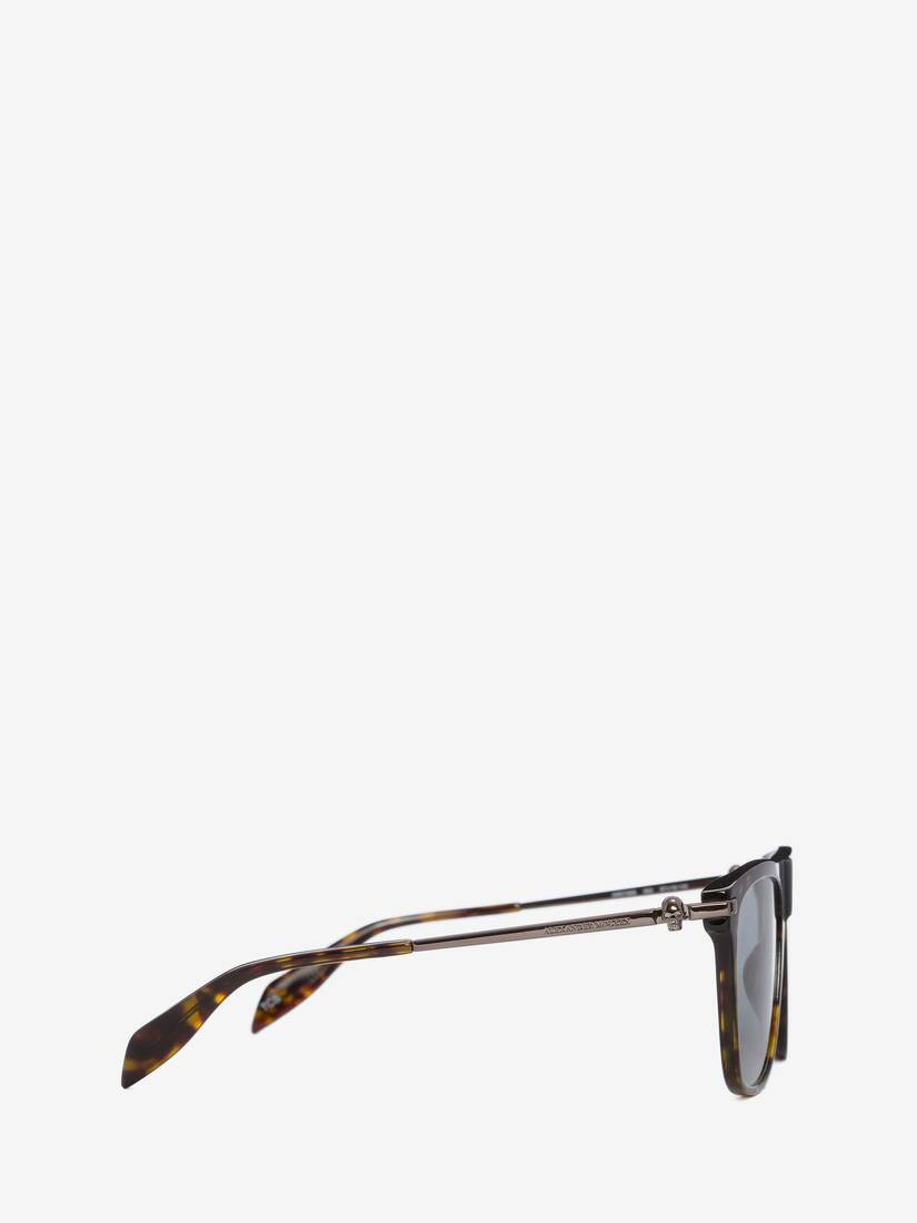 Display a large version of the product image 2 - Skull Square Acetate Sunglasses