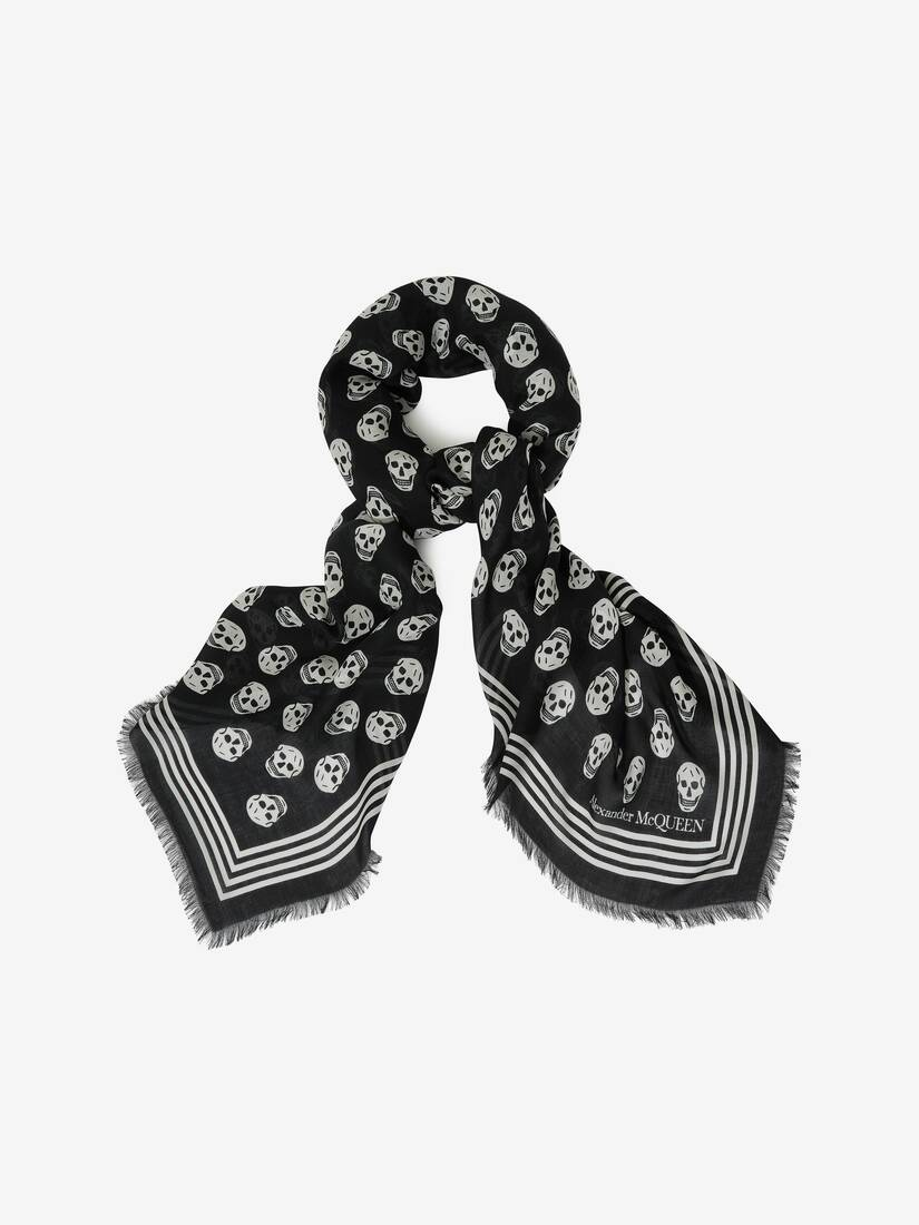 Display a large version of the product image 2 - Foulard Skull Biker