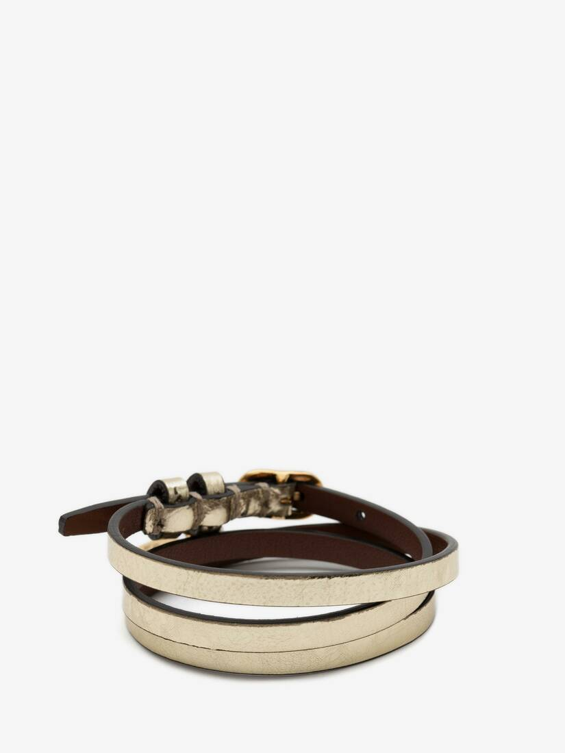 Display a large version of the product image 2 - Multi-Wrap Leather Bracelet