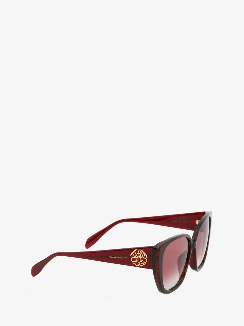 Display a large version of the product image 3 - Seal Logo Square Sunglasses