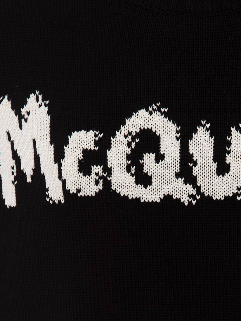 Display a large version of the product image 5 - McQueen Graffiti Crew Neck Jumper