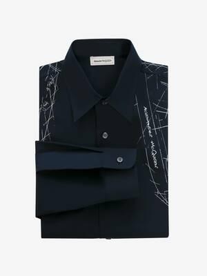 Printed Harness Shirt