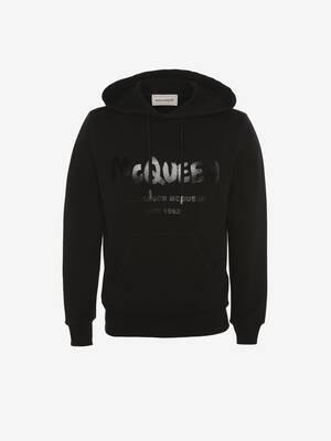 McQueen Graffiti Hooded Sweatshirt