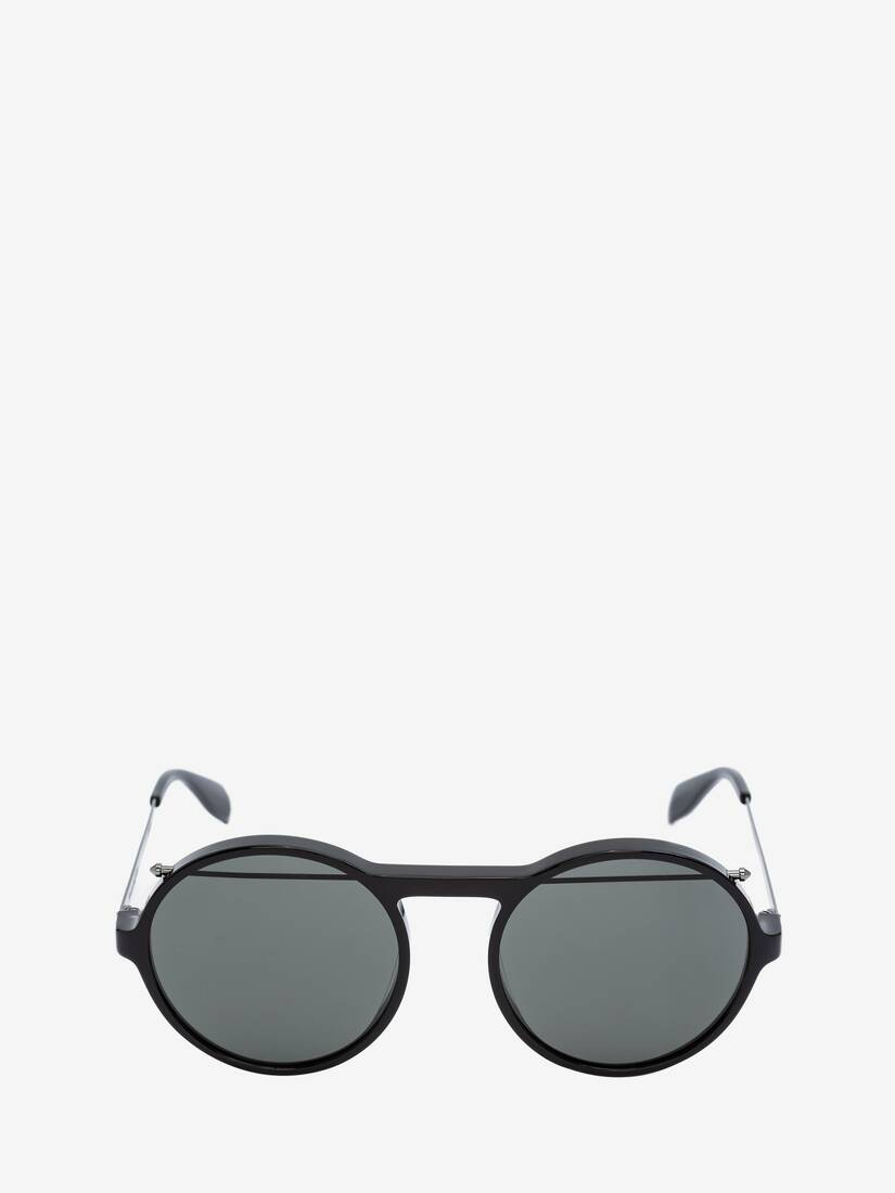 Display a large version of the product image 1 - Piercing Round Acetate Sunglasses