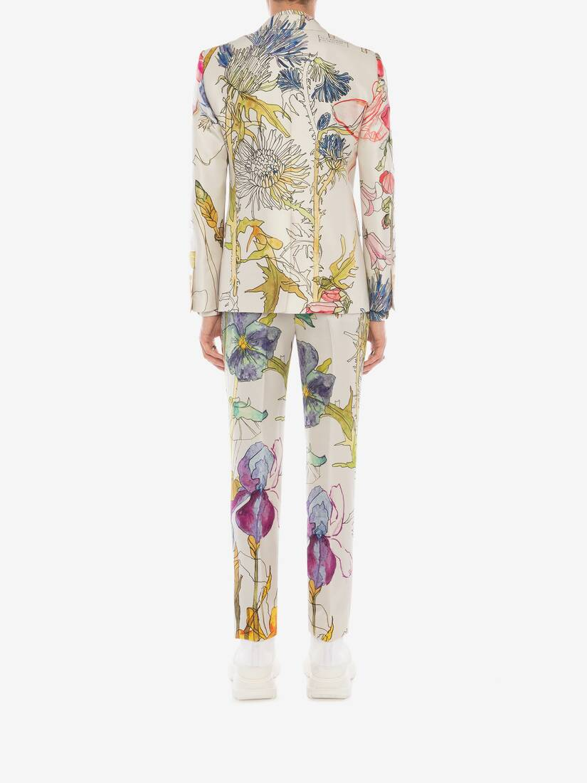 Display a large version of the product image 4 - Deconstructed Floral Jacket