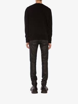 McQueen Graffiti Crew Neck Jumper