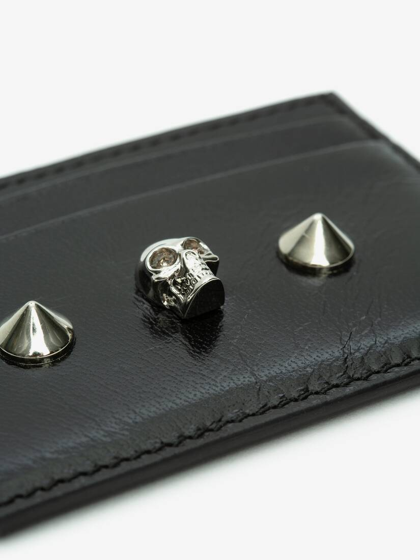 Display a large version of the product image 4 - Skull and Stud Card Holder