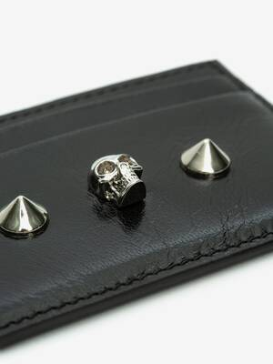 Skull and Stud Card Holder