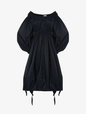 오프숄더 드레스