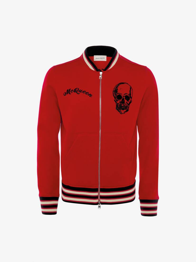 Display a large version of the product image 1 - Ivy Skull Embroidered Bomber Jacket