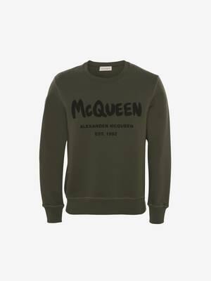 McQueen Graffiti Sweatshirt