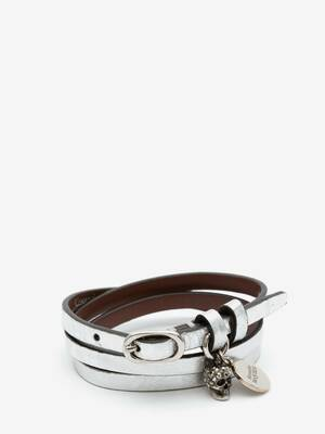 Multi-Wrap Leather Bracelet