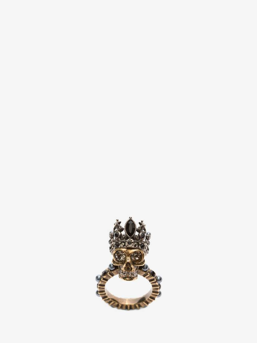 Display a large version of the product image 1 - King Skull Ring