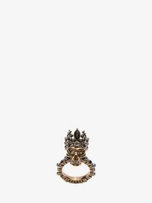 Ring mit King Skull